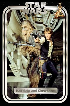 STAR WARS - CLASSIC HAN AND CHEWIE