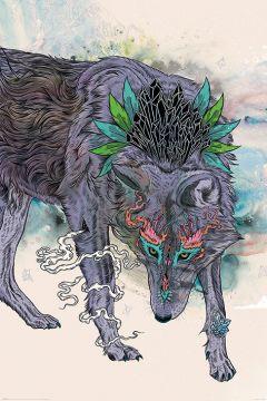 MATT MILLER - JOURNEYING SPIRIT WOLF
